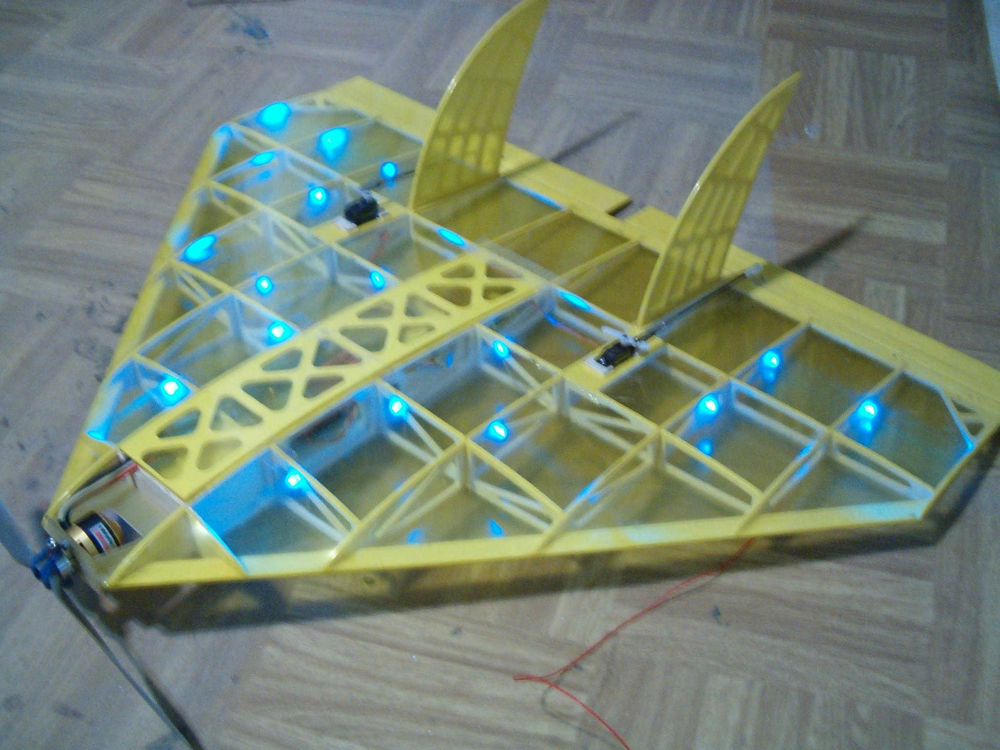 ein Delta mit Beleuchtung