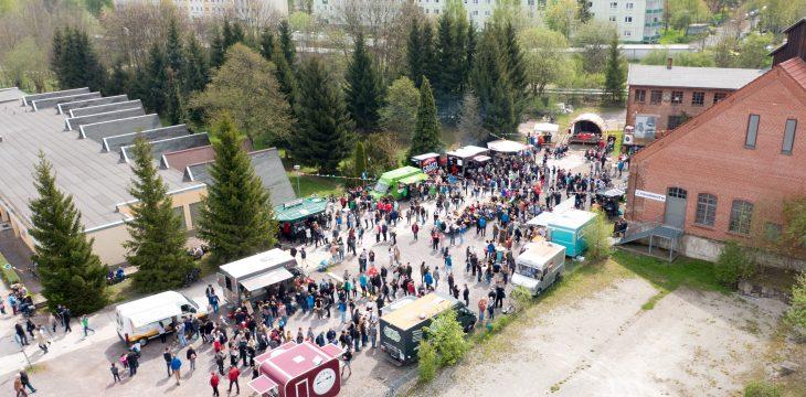 Street Food Festival 2017 in Ilmenau – Luftaufnahmen